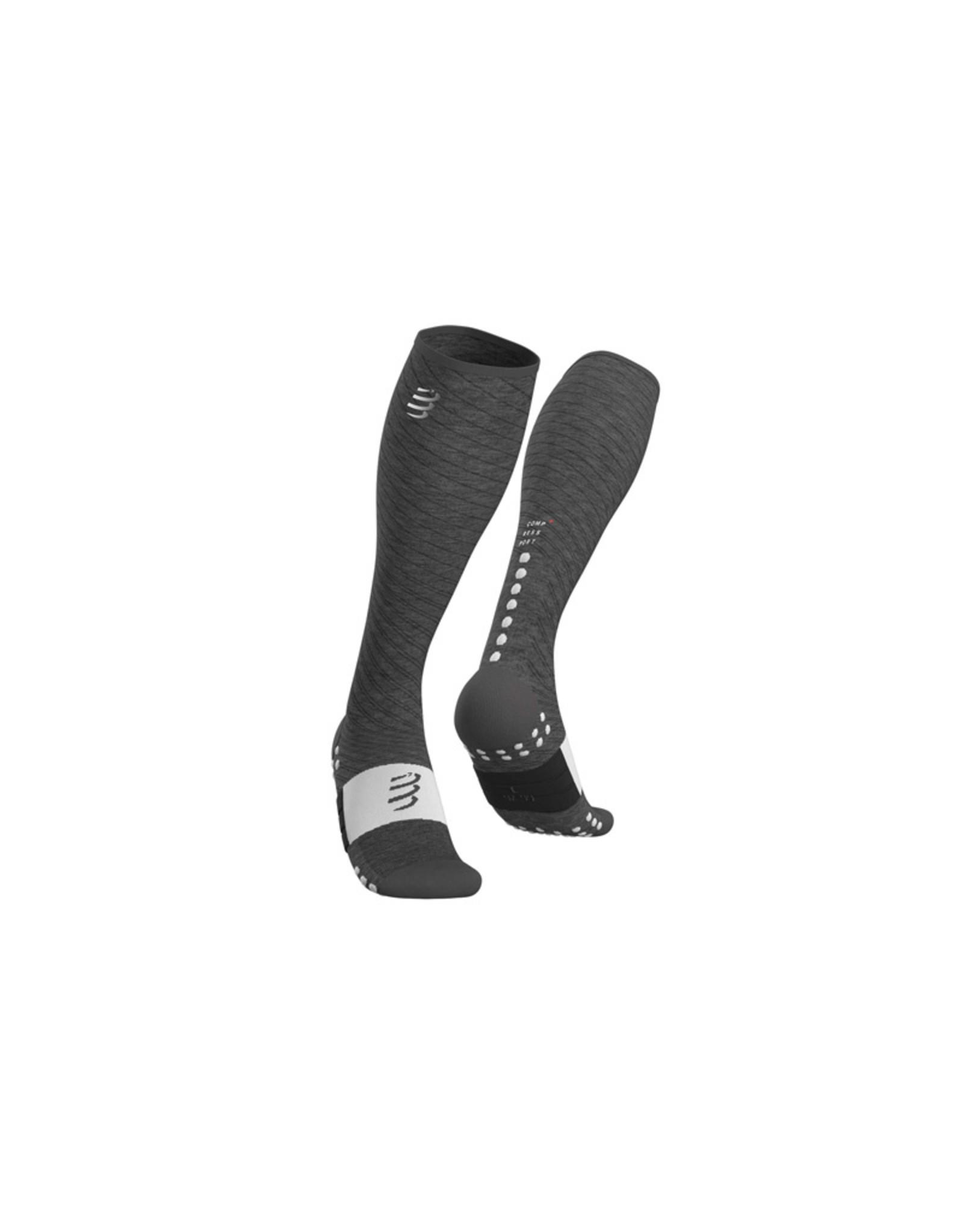 Compressport Full Socks Recovery Compressiesokken - Grijs