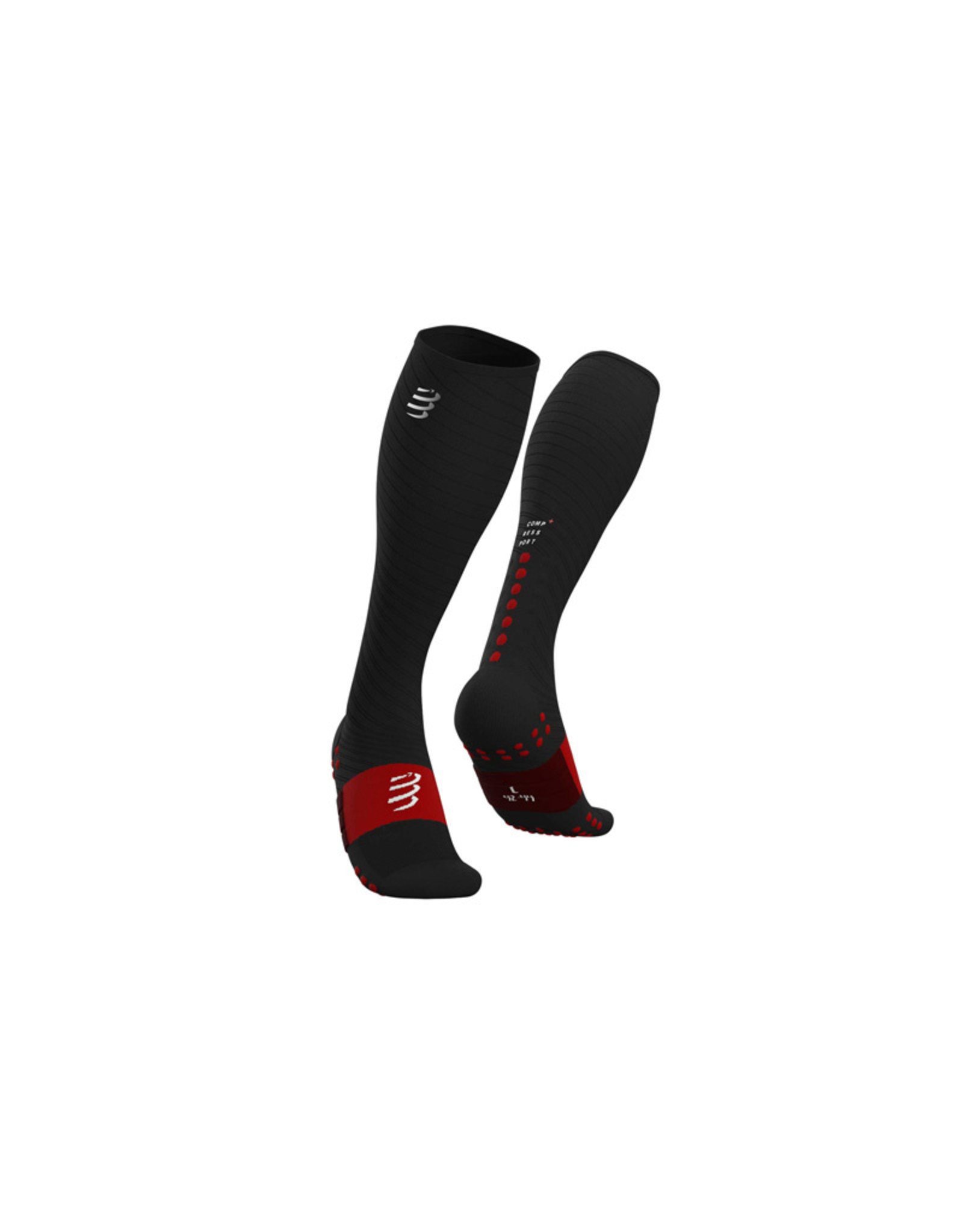 Compressport Full Socks Recovery Chaussettes De Compression - Noir