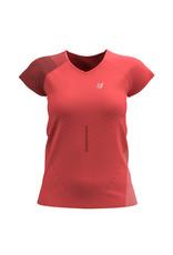 Compressport Performance SS Shirt Dames- Roze