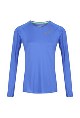 Inov-8 Base Elite Shirt Lange Mouw - Blauw