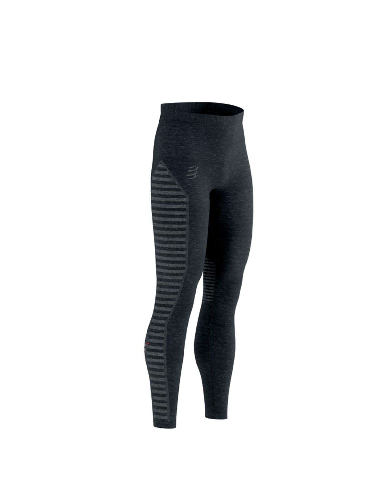 Compressport Winter Run Legging Noir