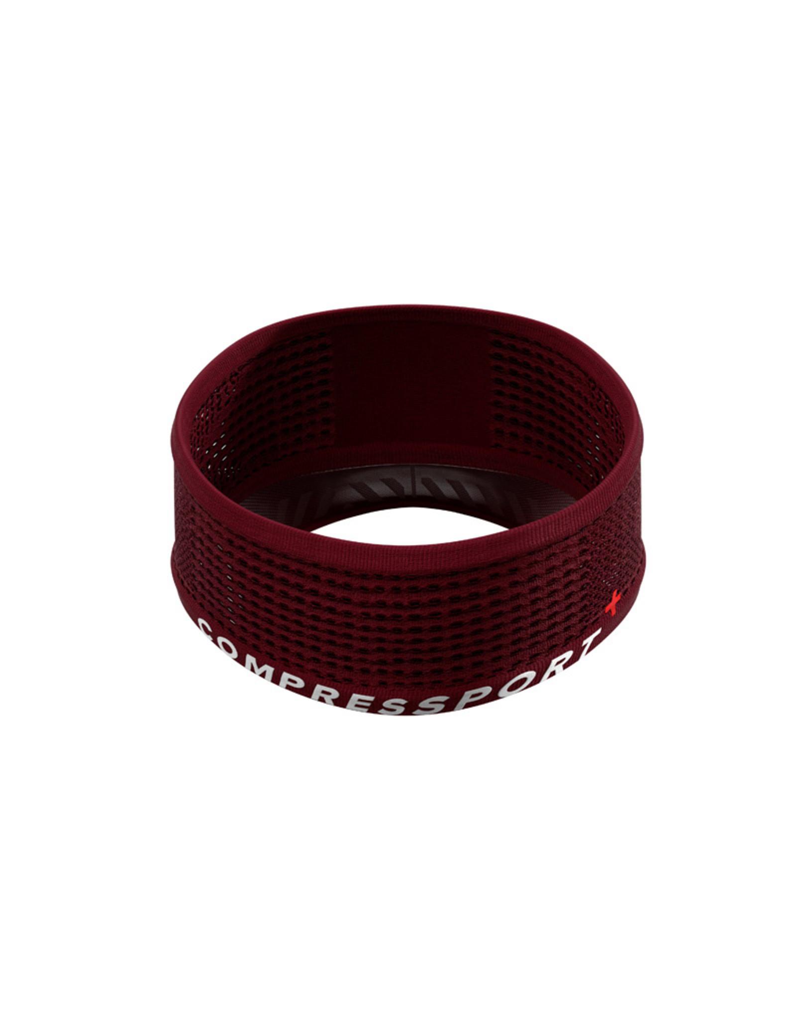 Compressport Spiderweb Headband On/Off  Rouge