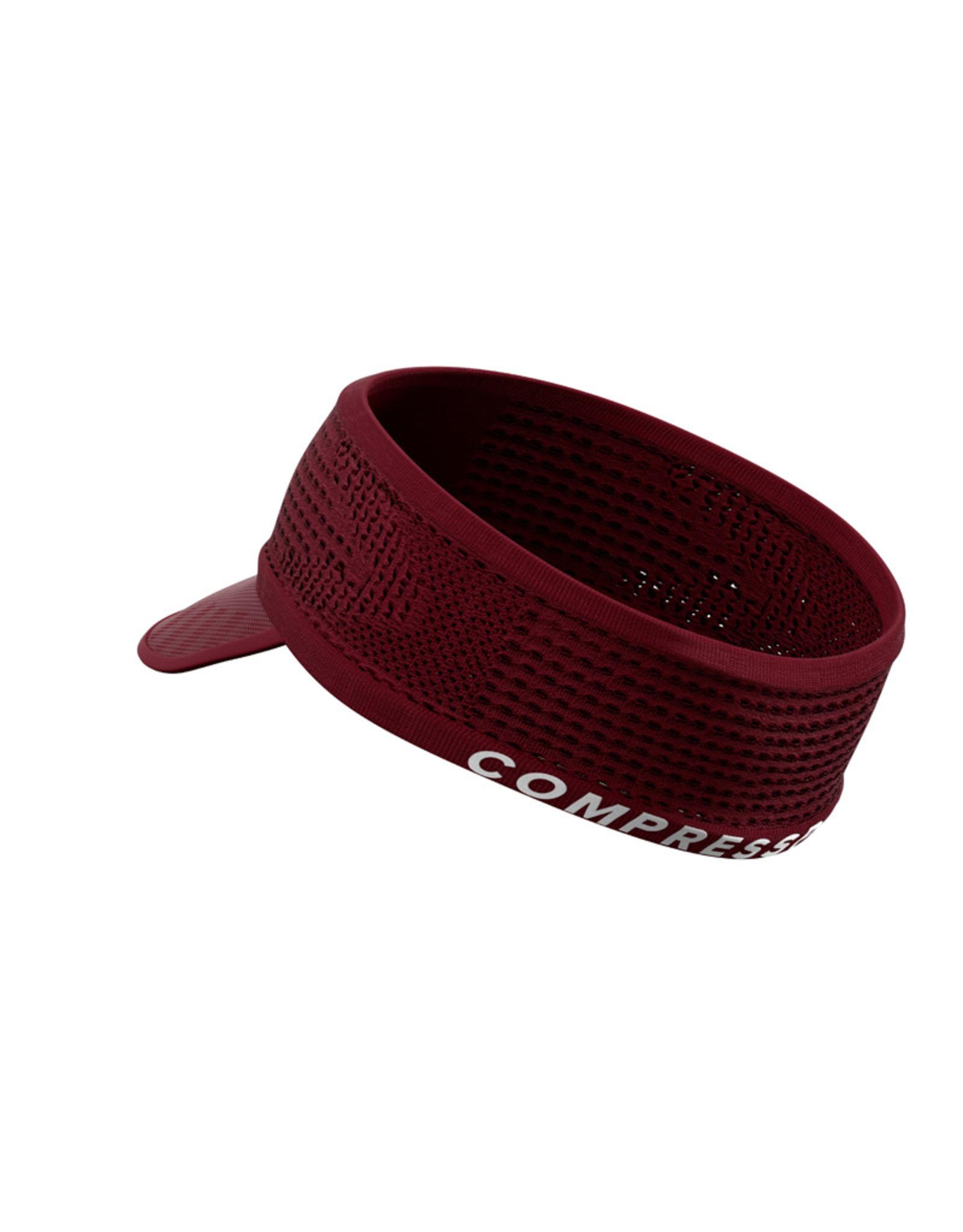 Compressport Spiderweb Headband On/Off  Rood