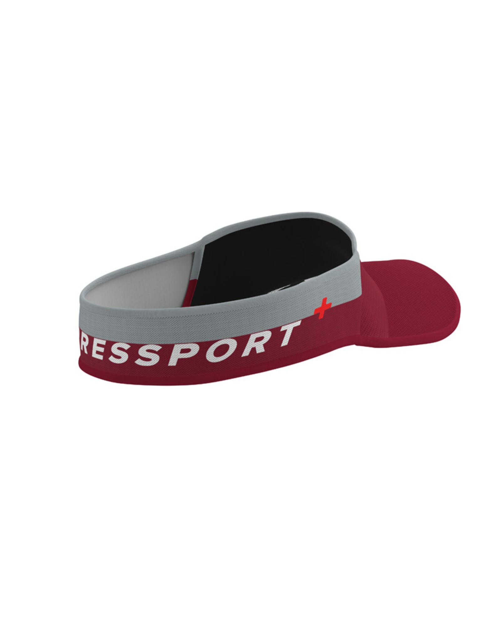 Compressport Visor Ultralight  Rouge/Gris