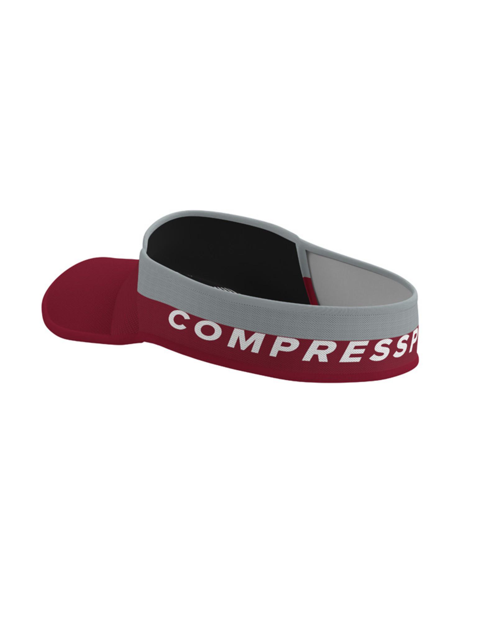 Compressport Visor Ultralight  Rood/Grijs