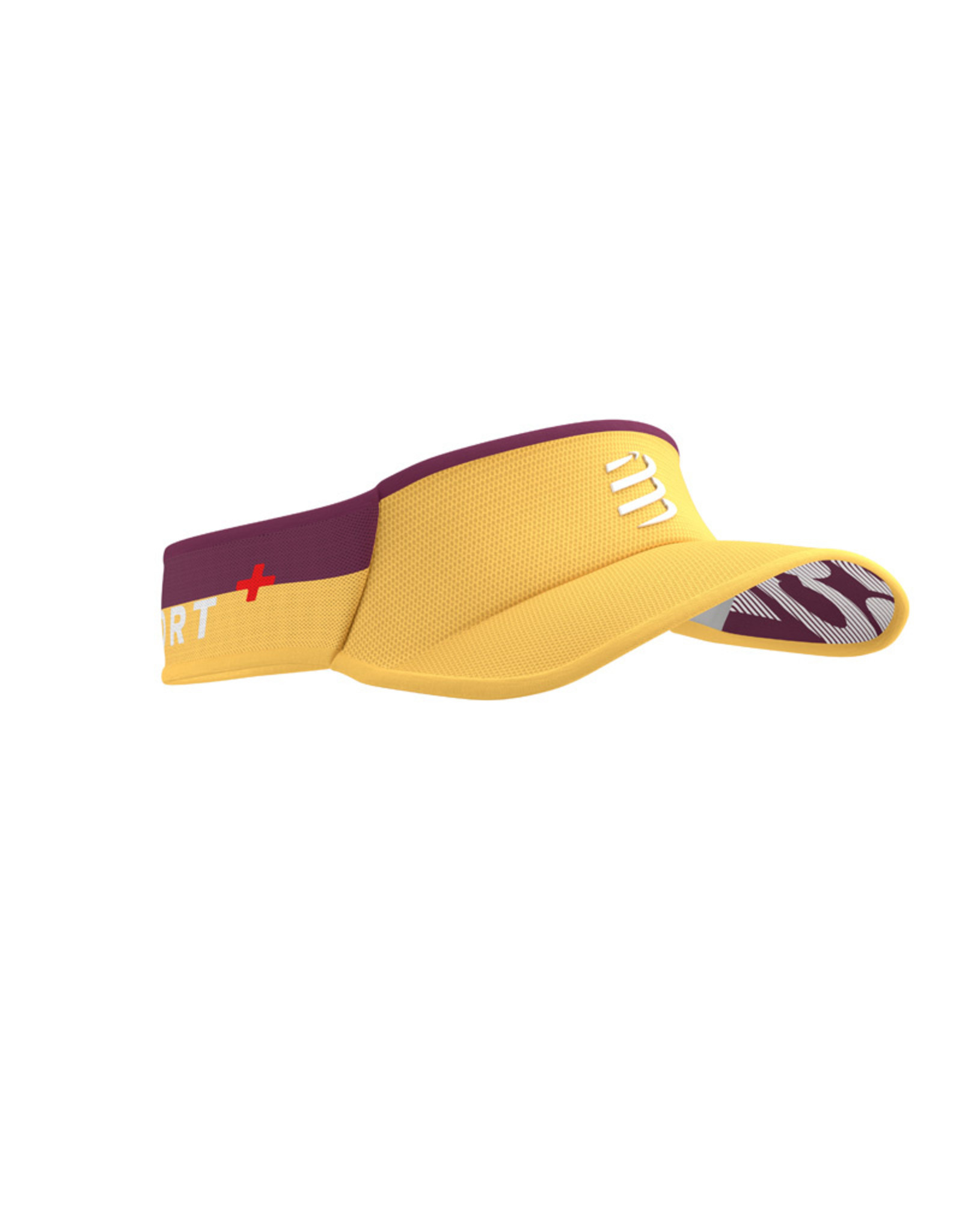 Compressport Visor Ultralight  Geel/Rood