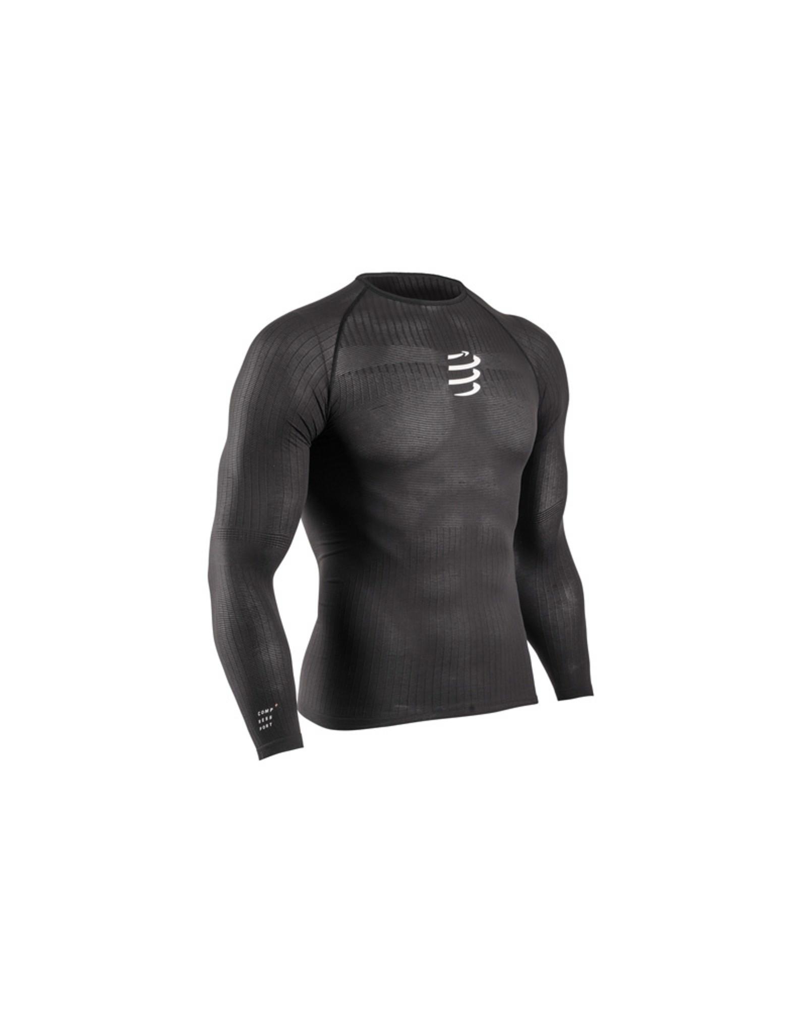 Compressport 3D Thermo 50G LS Shirt Zwart Thermoshirt