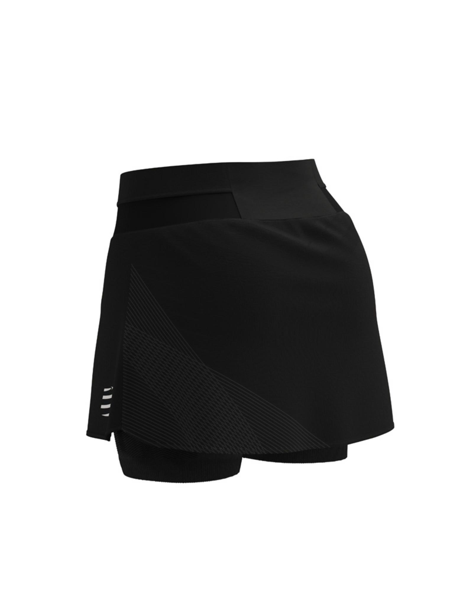 Compressport Performance Skirt - Zwart
