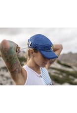 Compressport Pro Racing Cap Casquette Pour Running - Bleu - Unisexe