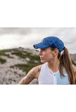 Compressport Pro Racing Cap Pet Voor Hardlopen - Blauw - Unisex