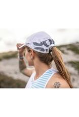 Compressport Pro Racing Cap Casquette Pour Running - Blanc - Unisexe