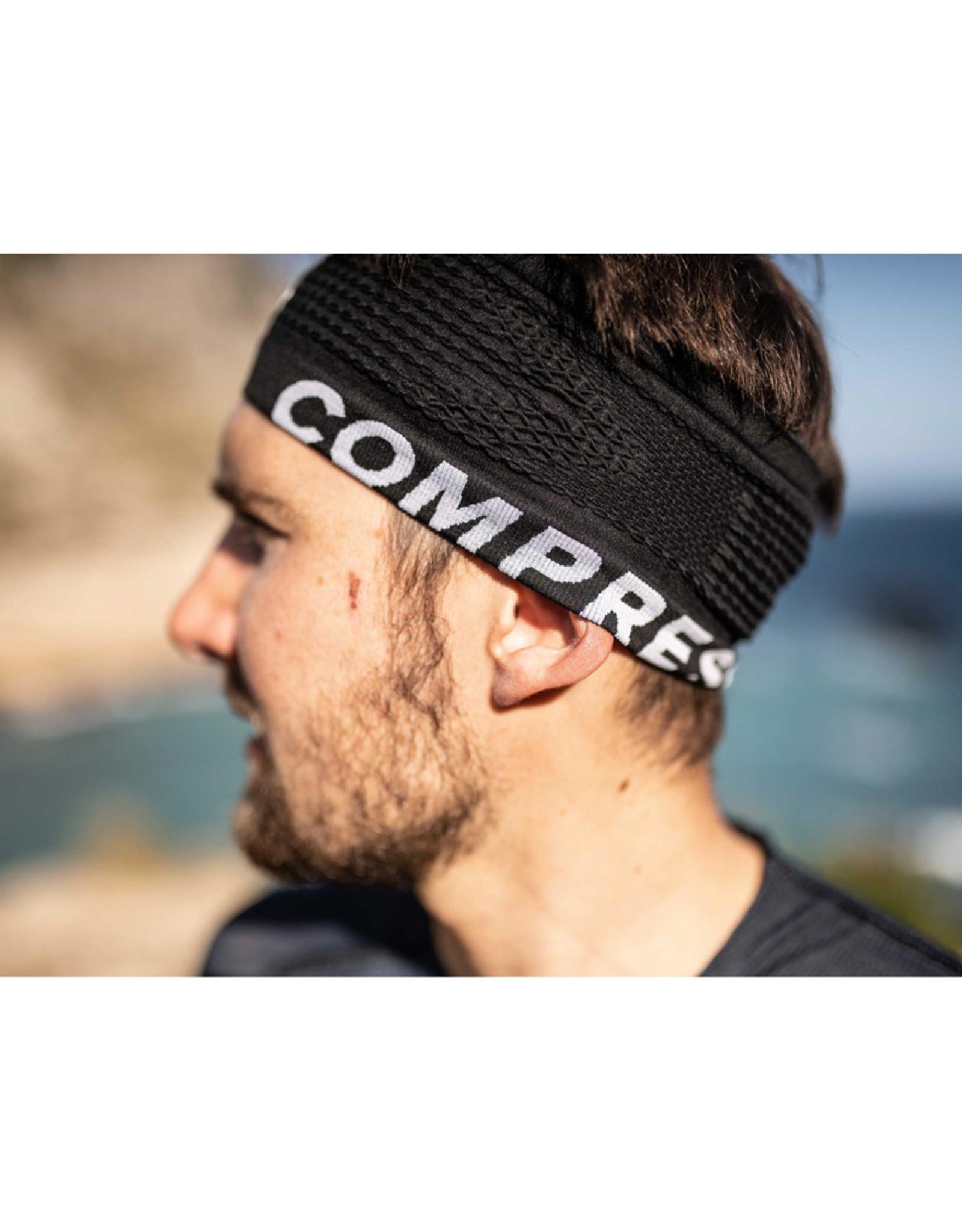 Compressport Headband On/Off - Zwart