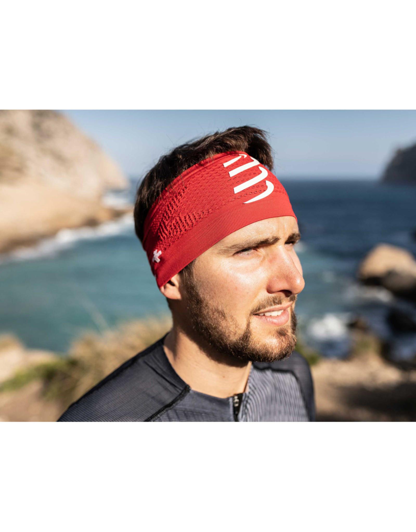 Compressport Headband On/Off - Rouge