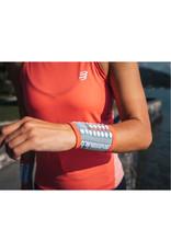 Compressport Sweatbands 3D.Dots - Grijs/Roze