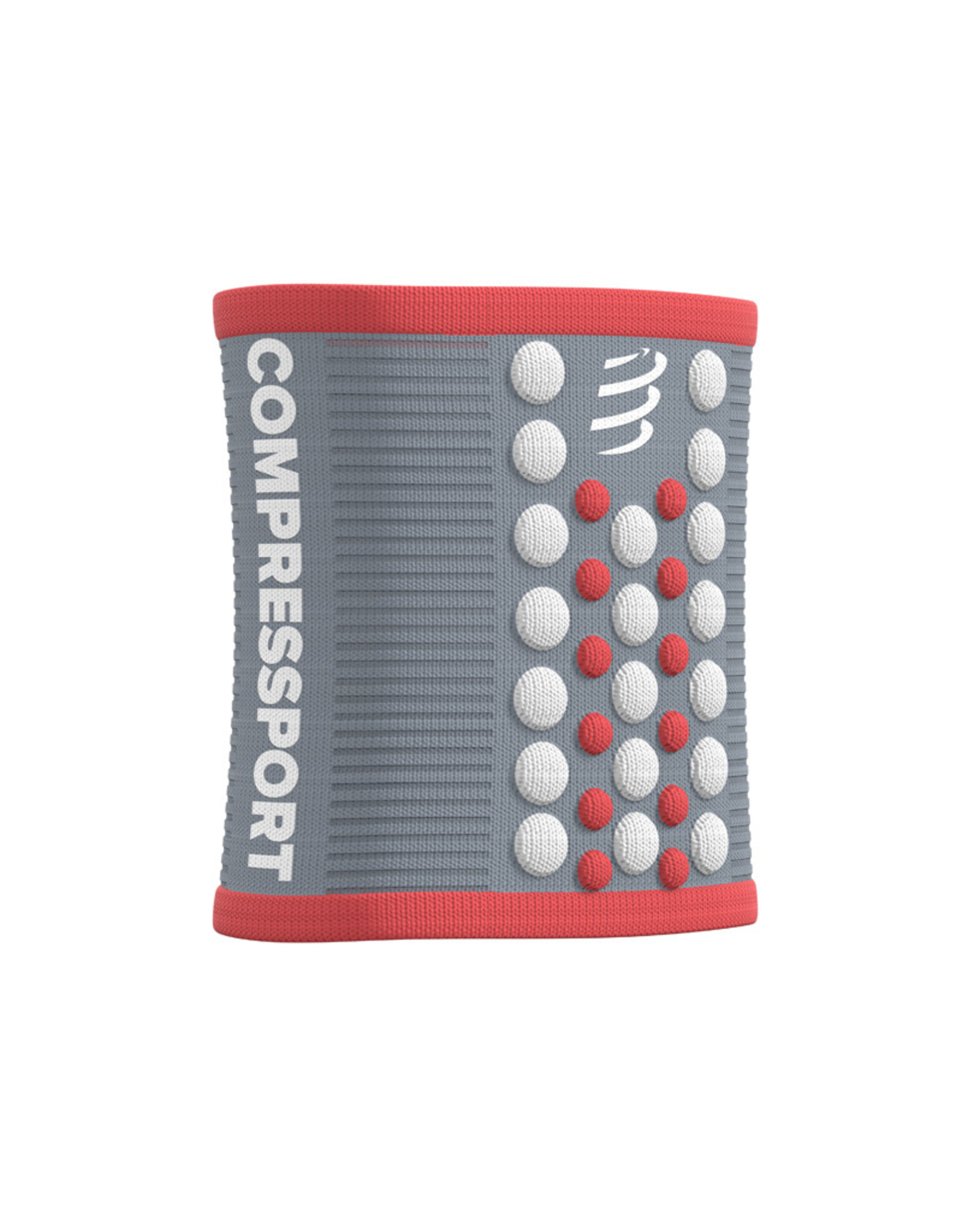 Compressport Sweatbands 3D.Dots - Gris/Rose
