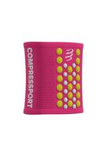 Compressport Sweatbands 3D.Dots  - Rose/Jaune