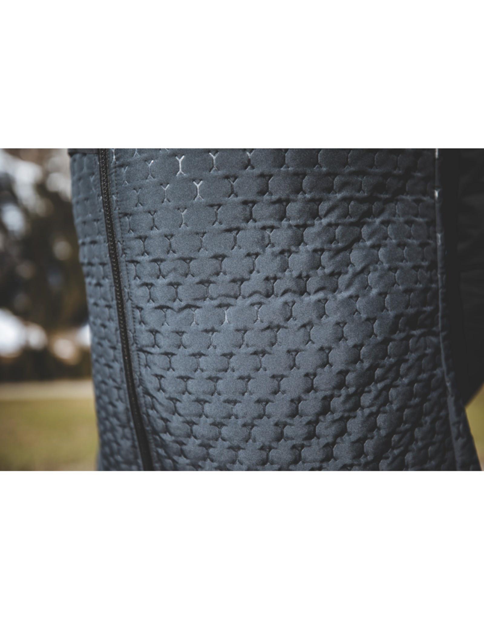 Compressport Winter Insulated 10/10 Jacket Noir Veste de course imperméable