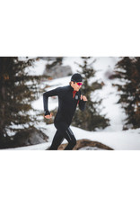 Compressport Winter Trail Postural LS Top Noir Chemise de course à manches longues