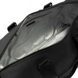 New Rebels® - Mart Weekender - Weekendtas - Reistas - Waterafstotend - Polyurethaan- Zwart