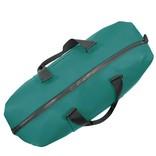 New Rebels® - Mart Weekender - Weekendtas - Reistas - Waterafstotend - Polyurethaan- Petrol