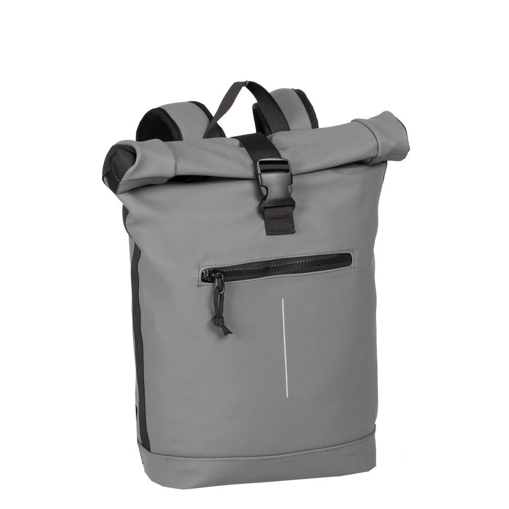 New-Rebels® Mart Waterafstotende Rolltop Laptop Rugzak - 15,6 inch -  Large II - Anthracite