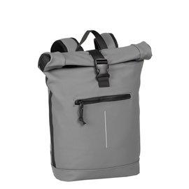 New-Rebels® Mart - Roll-Top - Backpack - Waterafstotend  - Antraciet - Large II - Rugtas - Rugzak
