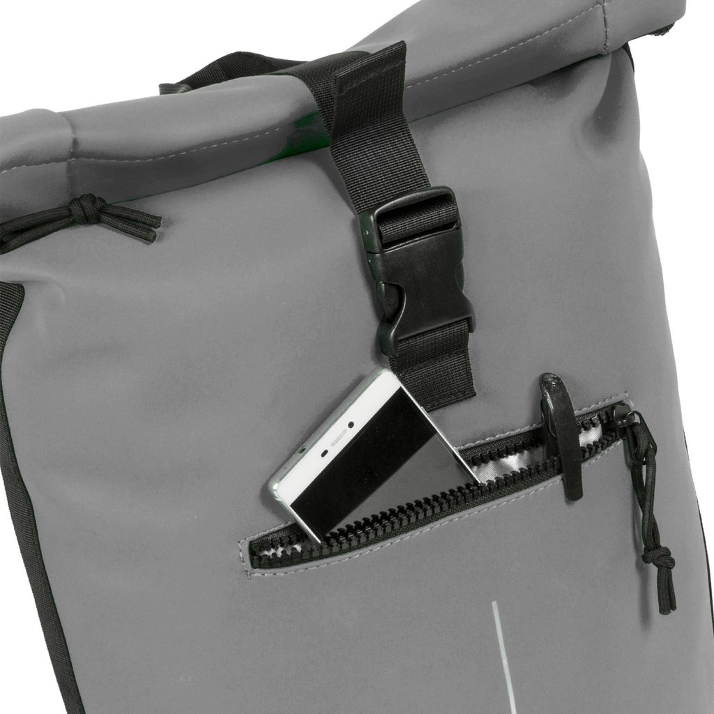 Mart Roll-Top Backpack Anthracite Large II   Rucksack
