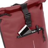 New-Rebels® Mart Waterafstotende Rolltop Laptop Rugzak - 15,6 inch -  Large II -   Burgundy