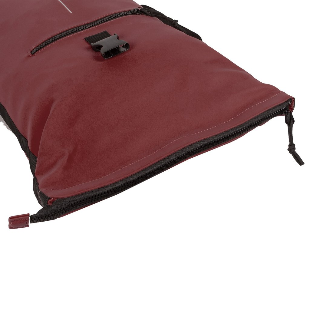 Mart Roll-Top Backpack Burgundy Large II   Rucksack