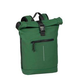 New-Rebels® Mart - Roll-Top - Backpack - Waterafstotend  - Donker Groen - Large II - Rugtas - Rugzak