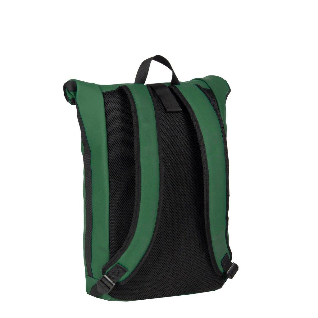 New-Rebels® Mart Waterafstotende Rolltop Laptop Rugzak - 15,6 inch -  Large II -  Donkergroen