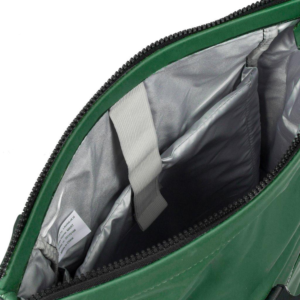 New-Rebels® Mart - Roll-Top - Backpack - Dark Green - Large II - 30x12x43cm - Backpack