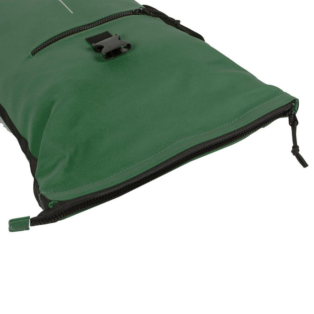 New-Rebels® Mart - Roll-Top - Backpack - Waterafstotend  - Donker Groen - Large II - 30x12x43cm -Rugtas - Rugzak