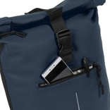 New-Rebels® Mart Waterafstotende Rolltop Laptop Rugzak - 15,6 inch -  Large II -  Navy
