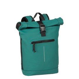 New-Rebels® Mart - Roll-Top - Backpack - Waterafstotend  - Petrol - Large II - Rugtas - Rugzak