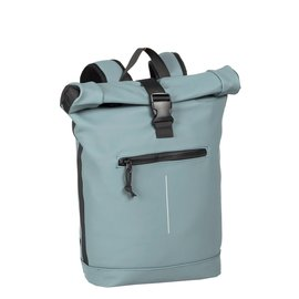 Mart Roll-Top Backpack Soft Blue Large II | Rugtas | Rugzak