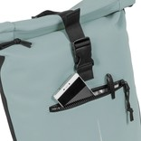 New-Rebels® Mart Waterafstotende Rolltop Laptop Rugzak - 15,6 inch -  Large II - Soft Blauw