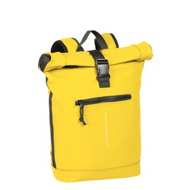 New-Rebels® Mart - Roll-Top - Backpack - Waterafstotend  - Geel - Large II - Rugtas - Rugzak
