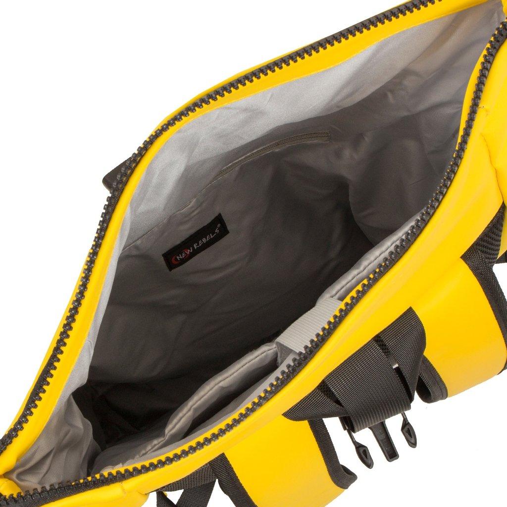 Mart Roll-Top Backpack Yellow Large II   Rugtas   Rugzak