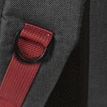 New-Rebels ® Wodz - Big Backpack - Black/Grey  II - 27x20x47cm - Backpack