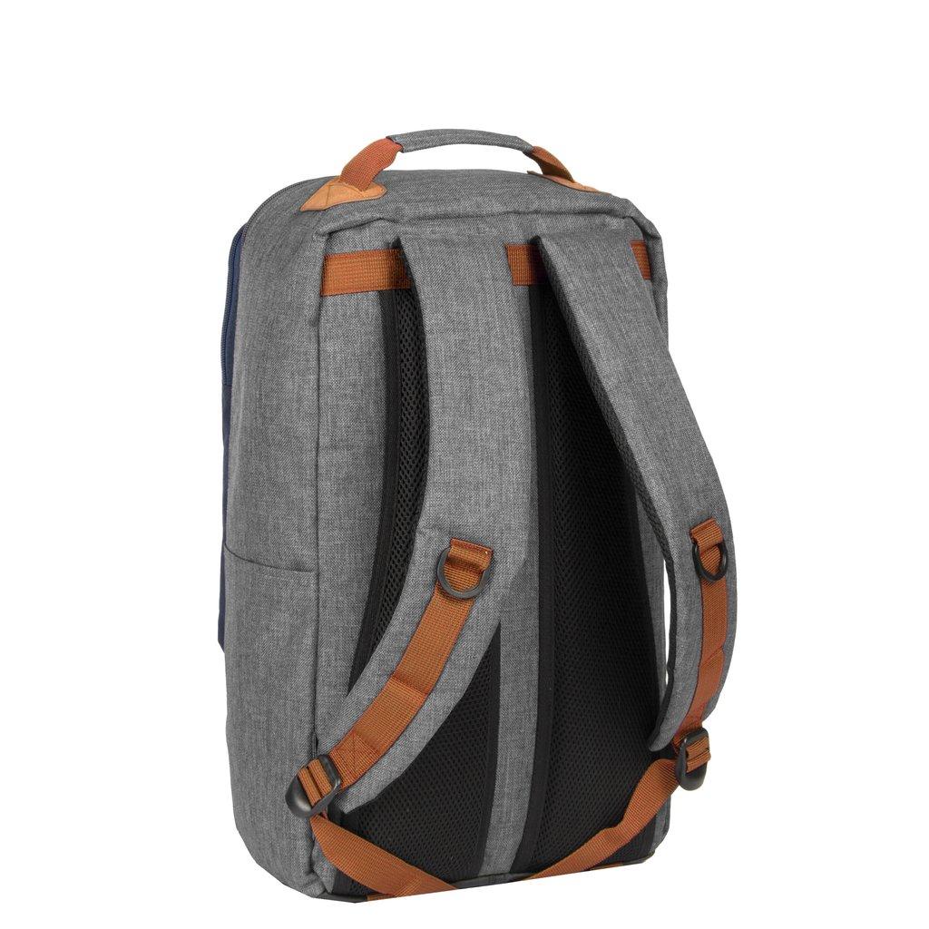 Wodz Big Backpack Grey/Navy II | Rugtas | Rugzak