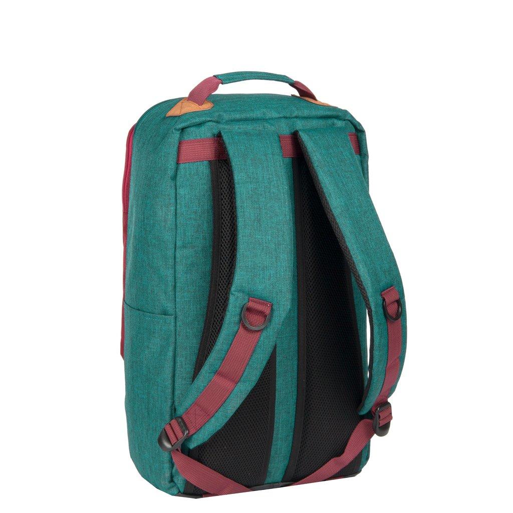Wodz Big Backpack Petrol/Grey II | Rucksack