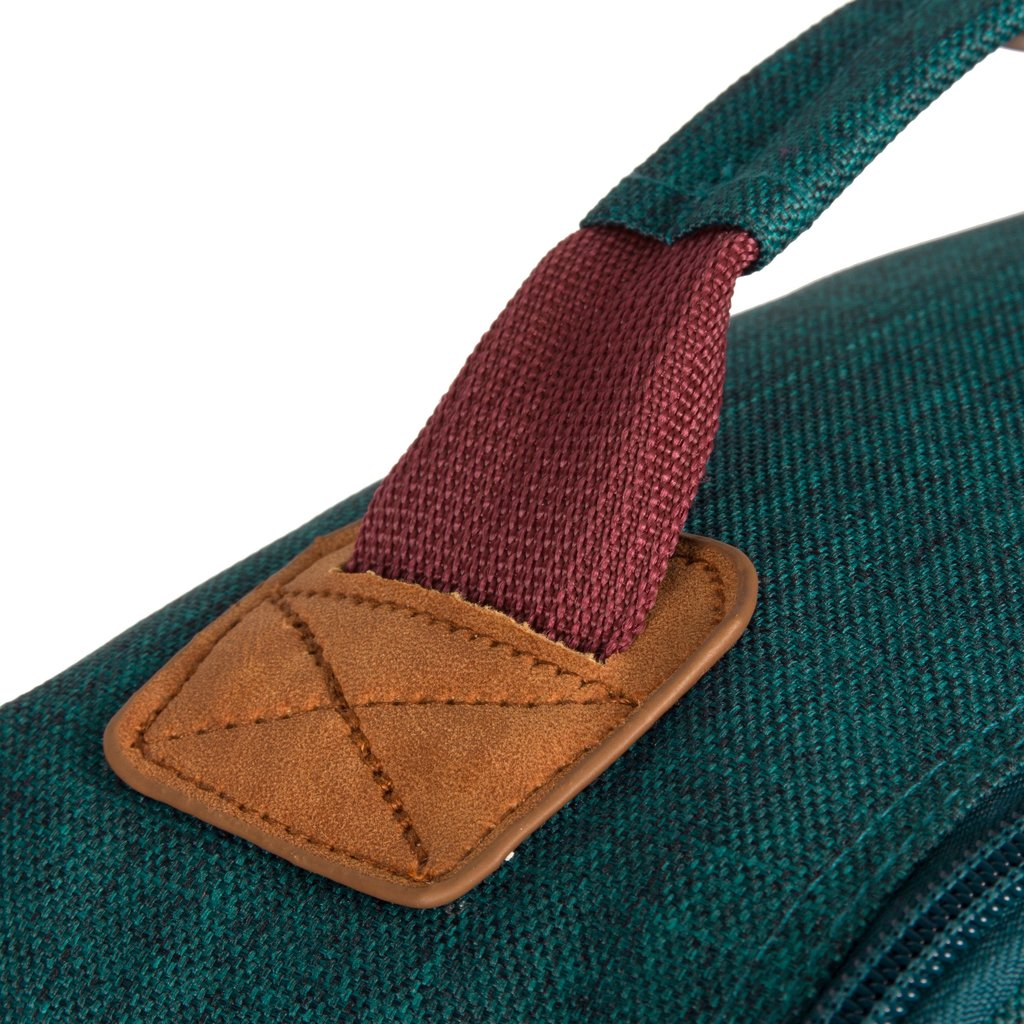 Wodz Big Backpack Petrol/Grey II | Rugtas | Rugzak