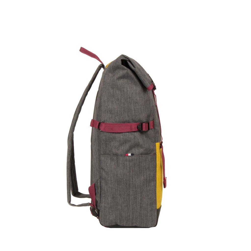 Wodz Big Roll Top Backpack Grey/Occur III | Rucksack