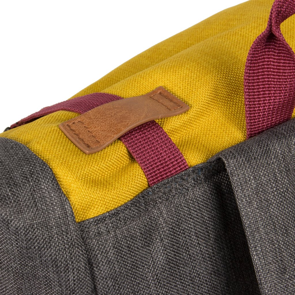 Wodz Big Roll Top Backpack Grey/Occur III | Rugtas | Rugzak