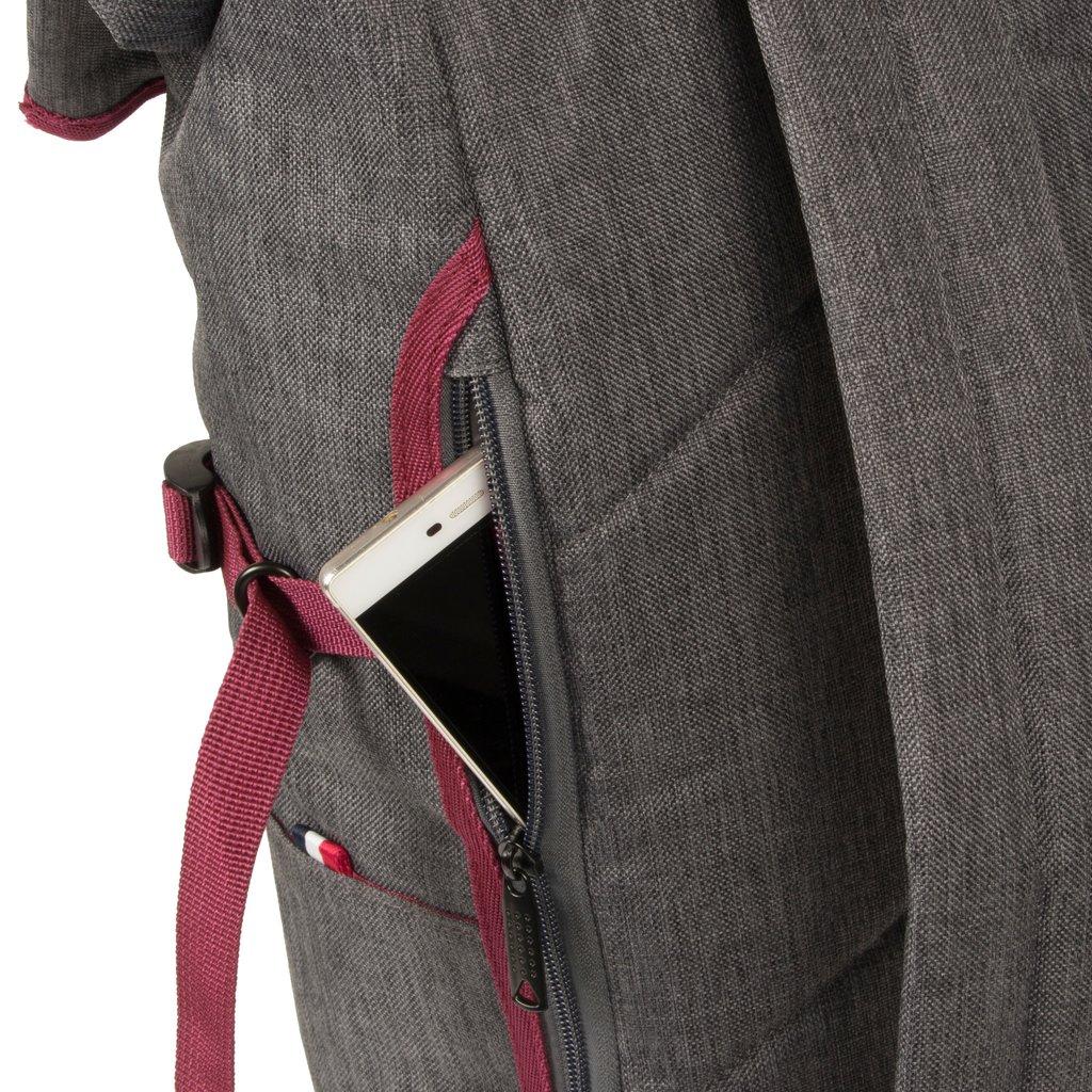 Wodz Big Roll Top Backpack Grey/Occur III