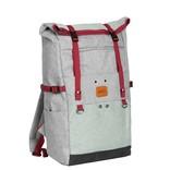 Wodz Big Roll Top Backpack Soft Green III | Rucksack