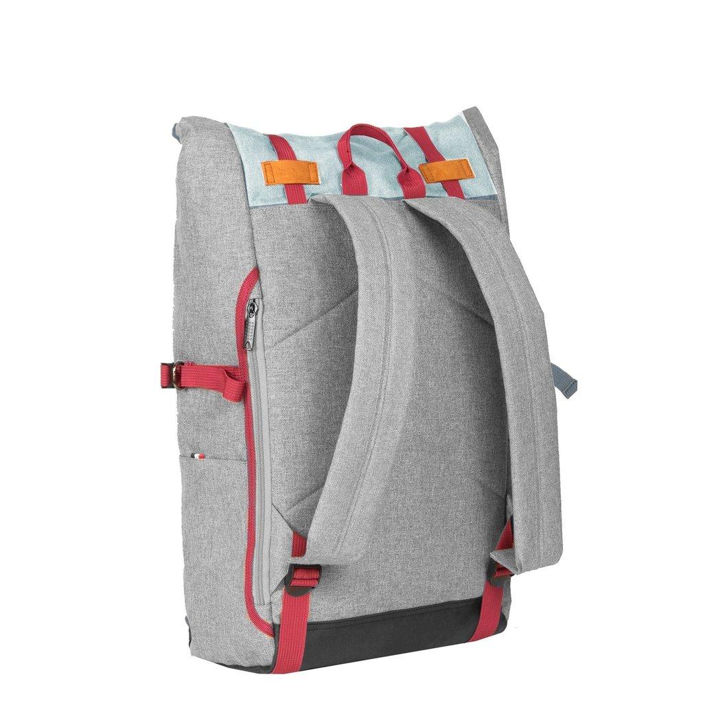 Wodz Big Roll Top Backpack Soft Green III | Rugtas | Rugzak