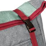 Wodz Big Roll Top Backpack Soft Green III