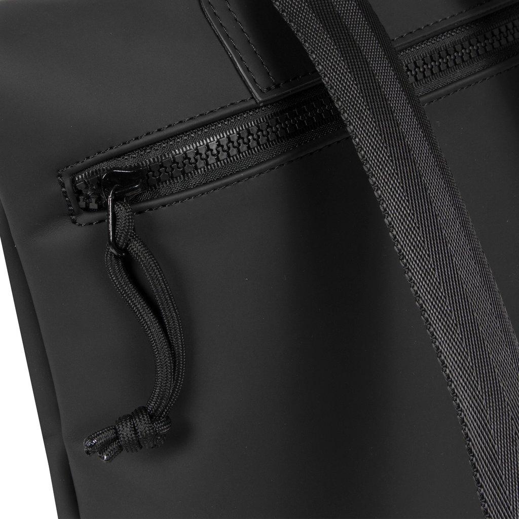New-Rebels® Mart - Roll-Top - Backpack - Black - Small II - 27x8x33cm - Backpack